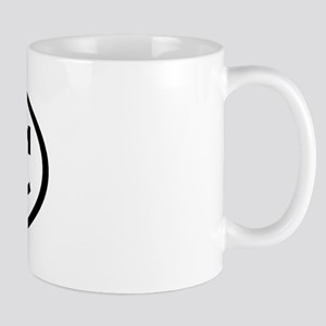 DRC Oval Mug
