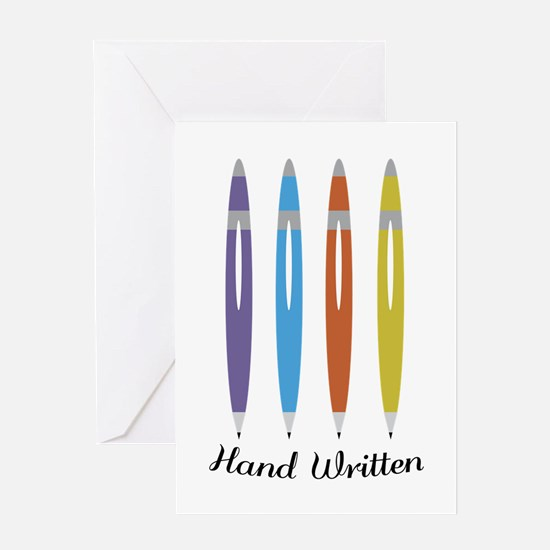 Hand Written Greeting Cards