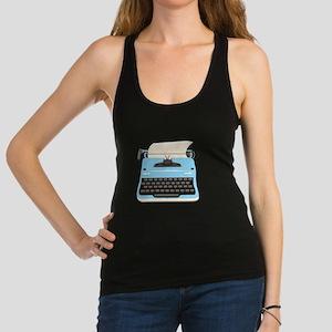 Typewriter Racerback Tank Top