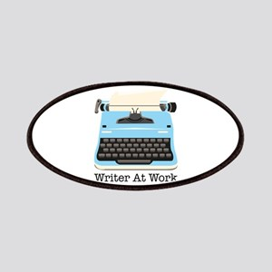 Writer At Work Patches