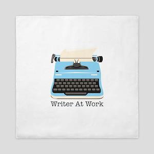 Writer At Work Queen Duvet