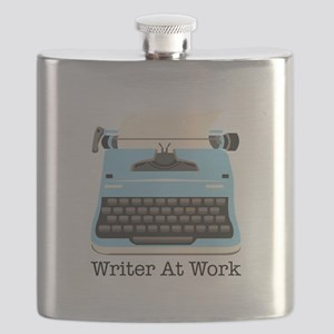 Writer At Work Flask
