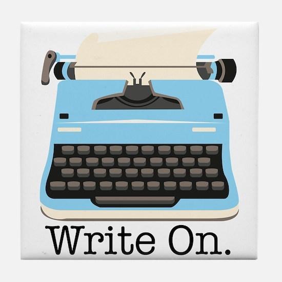Write On Tile Coaster