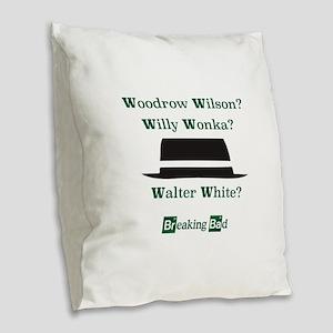 Breaking Bad Walter White Burlap Throw Pillow