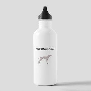 Whippet (Custom) Water Bottle