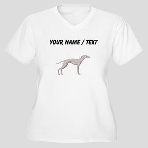 Whippet (Custom) Plus Size T-Shirt