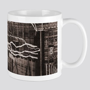 Nikola Tesla at Colorado Springs Mugs