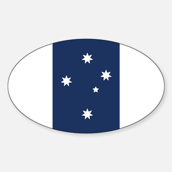 Cute Southern cross Sticker (Oval)