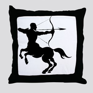 The Centure archer of the Zodiac Throw Pillow