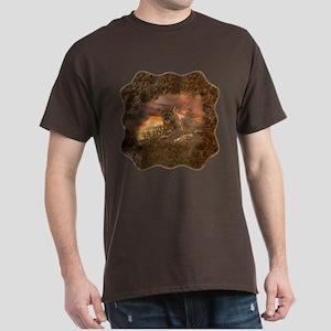 Sunset Cougar Dark T-Shirt
