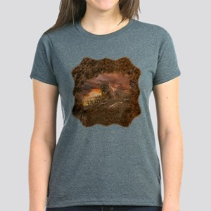 Sunset Cougar Women's Dark T-Shirt