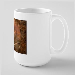 Sunset Cougar Large Mug Mugs