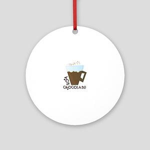 Hot Chocolate Ornament (Round)
