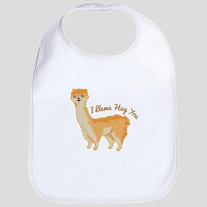 Llama Hug Bib