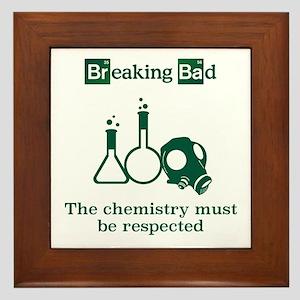 Breaking Bad Chemistry Framed Tile
