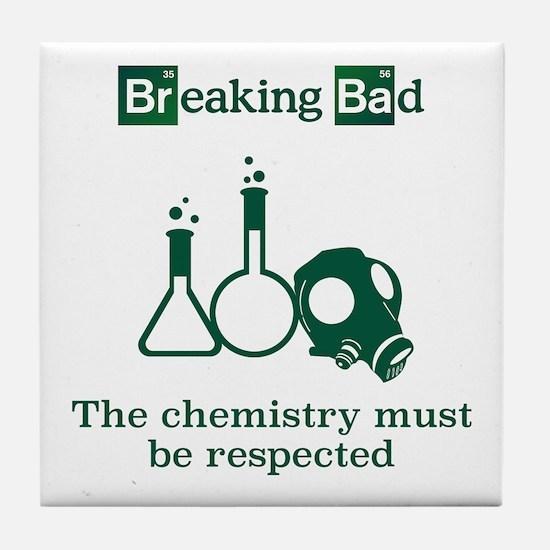 Breaking Bad Chemistry Tile Coaster