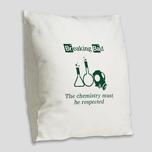 Breaking Bad Chemistry Burlap Throw Pillow
