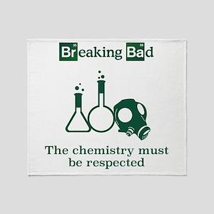 Breaking Bad Chemistry Throw Blanket