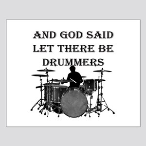 Drummers God Made Small Poster
