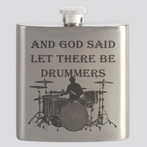 Drummers God Made Flask