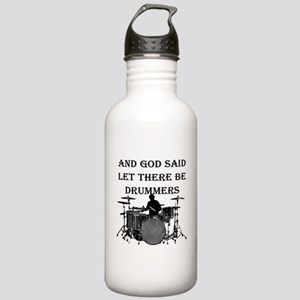 Drummers God Made Stainless Water Bottle 1.0L