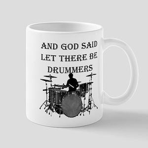Drummers God Made 11 oz Ceramic Mug