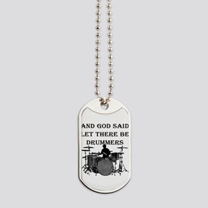 Drummers God Made Dog Tags