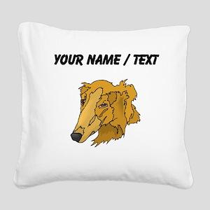 Goldendoodle (Custom) Square Canvas Pillow