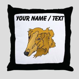 Goldendoodle (Custom) Throw Pillow