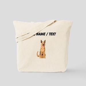 German Shepherd (Custom) Tote Bag