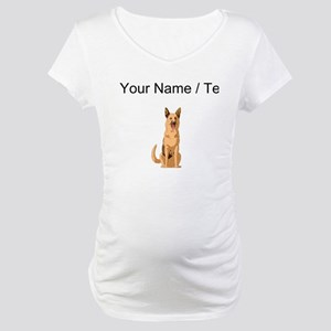 German Shepherd (Custom) Maternity T-Shirt