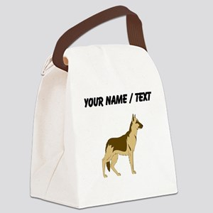 German Shepherd (Custom) Canvas Lunch Bag