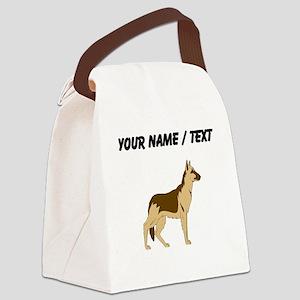 German Shepherd (Custom) Canvas Lunch Bag