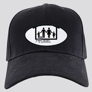 Family Home Pitbull copy Black Cap