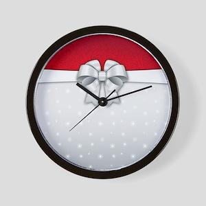 Simplistic Holiday Wall Clock