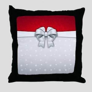 Simplistic Holiday Throw Pillow