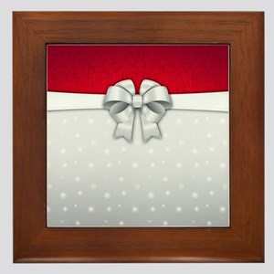 Simplistic Holiday Framed Tile