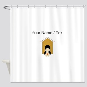 Doghouse (Custom) Shower Curtain
