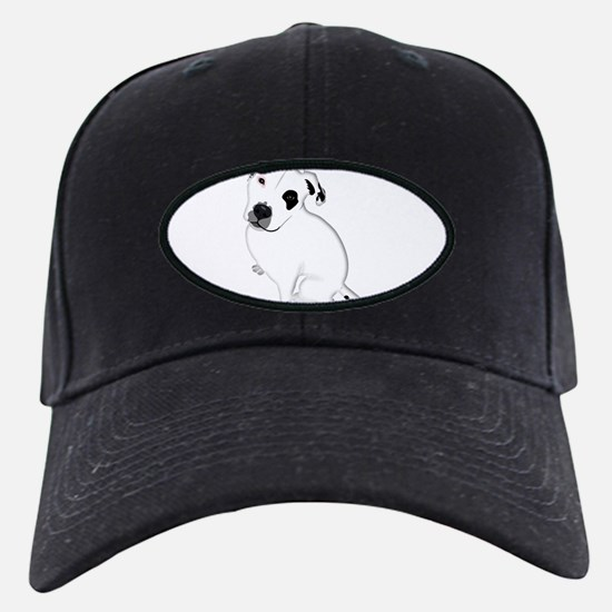 Cute Pitbull PuppyWhite Shaded Baseball Hat