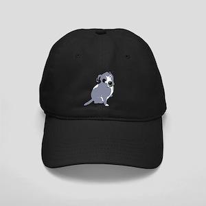 Cute Pitbull Puppy Grey Black Cap