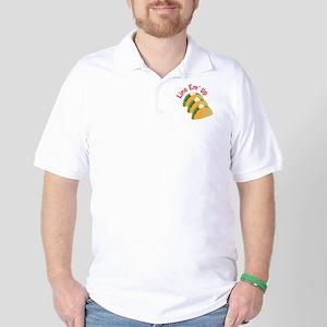 Line Em Up Golf Shirt