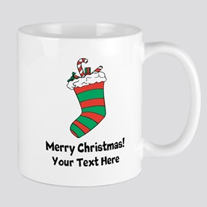 Christmas Stocking Mugs For Xmas Holidays