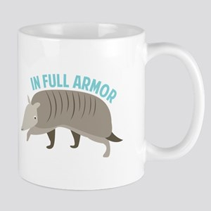 Armadillo_In_Full_Armor Mugs