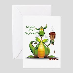 Dragon Card Greeting Cards