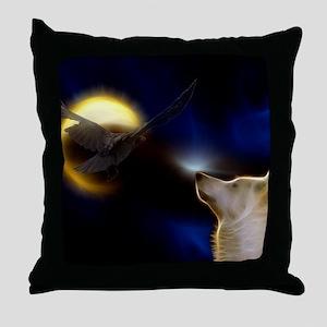 Shamanic Journey Throw Pillow