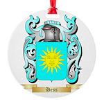 Hess Round Ornament