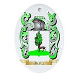 Heslip Ornament (Oval)