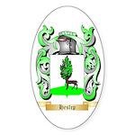Heslep Sticker (Oval 10 pk)