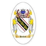 Heskett Sticker (Oval 10 pk)