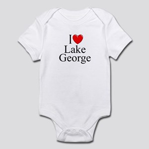 """I Love Lake George"" Infant Bodysuit"